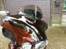 "Harley 8"" Smoke Tint Windshield Touring Electra Glide Ultra Bat Wing 14 and up"