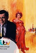 """16mm Feature """" AGENT 8 3/4 (1964) """"HOT ENOUGH FOR JUNE"""" NOT on DVD Dirk Bogarde"""