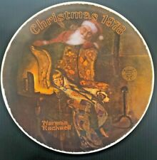 Vintage Norman Rockwell Collectors' 1978 Christmas Plate ~ Christmas Dream