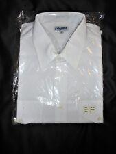 CIN CIN pianura bianca camicia Taglia arge Nuovo con etichette ancora in sacchetto trasparente sigillati