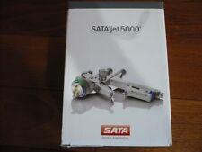 Genuine Sata Jet 5000 B RP Gun w/1.3, w/ 0.6L Reusable Plastic Cup, (satajet)