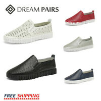 DREAM PAIRS Women's Flat Comfortable Sneaker Shoes Casual Slip On Loafers Shoes