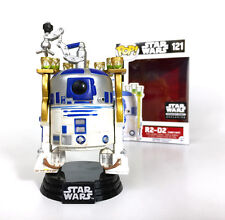 R2D2 Jabbas Palace Star Wars Licenced R2-D2 Funko POP 121 Bobble Head RARE NEW