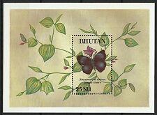 Bhoutan Bhutan Papillons Butterflies Schmetterlinge Mariposas Farfalle ** 1992
