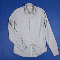 Aglini shirt camicia uomo slim usato used S 39 top luxury manica lunga T5463