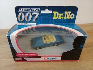 CORGI TY02501 JAMES BOND SUNBEAM ALPINE DR NO 1:43 DIE CAST - NOS - MIB
