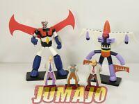 GOL2 LOT 5 figurines résine GO NAGAI HACHETTES 6 à 16 cm GOLDORAK + combattants