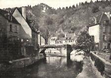 CREUSE. Aubusson. Les Bords De la Creuse 1900 old antique print picture