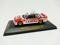 IXO 1:43 - RAC047 BMW M3 #14 Tour de Corse 1989 Chatriot / Perin