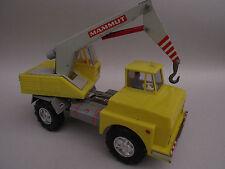 Camion grue - Truck crane - Jouet plastique/métal