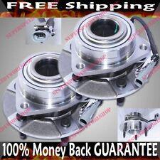PAIR FRONT Wheel Hub Bearing02-05 Saturn Vue Base Sport 3.0L/181Cu  w/ABS 513189