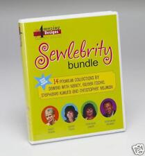 Amazing Designs Sewlebrity Bundle-Embroidery Designs!