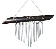 NEU Klangspiel Metall Bambus Windspiel Feng Shui Klang4