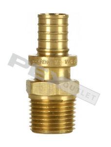 "REHAU 3/4"" EVERLOC x 1"" MPT or 3/4"" FS ASTM F2080 Adapter Article ID# 260597-101"