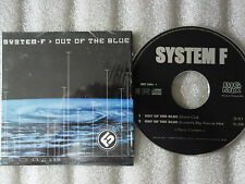 CD-SYSTEM F-OUT OF THE BLUE-Short Cut-Lucien's Big trance(CD SINGLE)1999-2 TRACK