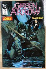 GREEN ARROW #5 with Doc Savage (1990) Italian SqB color comic book FINE-
