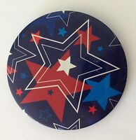 Celebrating America USA Star Button Badge Pin Authentic Vintage (N11)