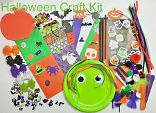 Childrens Art & Craft Set ~ HALLOWEEN Craft Materials ~ Kids Craft Activity Kits