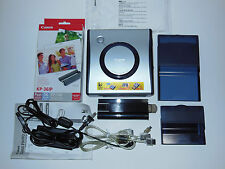 Canon CP-100 Direct Print Card Photo Printer with KP-36IP (71 total) Used Once