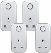 HIVE Active Smart Plug SILVER 4 Pack
