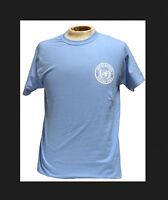 UN United Nations U.N Peacekeeper Light Blue (Silk Screen Logo) T-shirt T Shirt