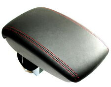 Nissan Juke Leather Arm Rest Red Stitching Armrest + Storage Genuine KE8771K1RE