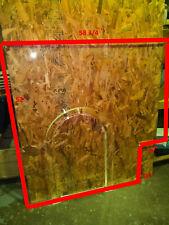 """Bullet Proof Acrylic Teller Window Set 58 3/4""""W x 52""""H Bulletproof Glass"""
