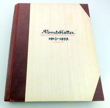 Mese-fogli-E. breuninger Stoccarda - 1912-1933/32 - mese fogli