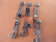 Set of 6 Singer Serger Feet QuantumLock 14T948,14T957,14T967,14T968,Professional