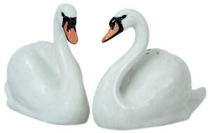 Quail Ceramics  Salt & Pepper Pots  Swans