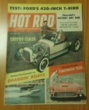 HOT ROD Magazine / July 1959 / Thunderbird a Class of its Own / Dragging Boats