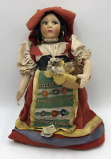 Vintage Italian Doll Magis Roma Side Glance Eyes