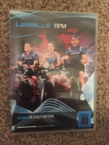 Les Mills RPM 49 CD, DVD, Notes cycling spinning