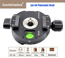 XPC-60 Mini 360° Panoramic Head Tripod Head Metal Clamp