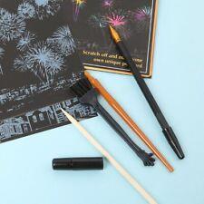 5Pcs Painting Drawing Scratch Arts Set Stick Scraper Pen Tools Creative DIY HOT
