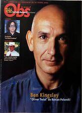Mag 2005: BEN KINGSLEY_TIM BURTON