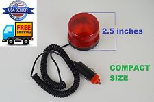 Flashing Hazard Light Emergency Warning Strobe Beacon Car Truck RED Magnetic