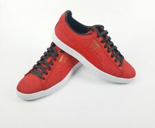 Puma Men's Clyde GCC Sneaker 36263102 Suede Red White Green Size 10