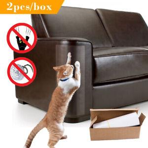 2pcs Cat Scratching Mats Anti-grap Adhesive Couch Furniture Door Protector Pads