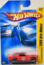 HOT WHEELS 2008  NEW MODELS FORD MUSTANG FASTBACK #27/40 RED