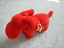 New listing Rover the Red Puppy Dog - Ty Beanie Buddy - Cute Doggie Looking For A New Home