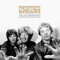 THE LOST BROADCASTS  by CREAM  Vinyl Double Album  BAU004LP rare tracks