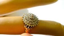 DIAMOND RING - 9ct GOLD HALF CARAT  61 DIAMOND CLUSTER RING £100 0FF WAS £500
