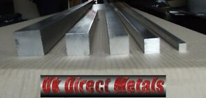 "1/4"" (6.35mm) - 4"" (101.6 mm) Aluminium Sq bar 6082 Fast & free p+p + cutting*"