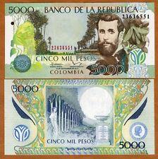 Colombia, 5000 (5,000) Pesos, 10-9-2013, P-452 (452p), UNC