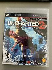 Uncharted 2: Among Thieves (PS3) 1st PRINT BLACK LABEL: NEW-OPENED, NEVER PLAYED