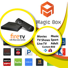 AMAZON FIRE TV BOX 4K WIHT PREMIUM ADDONS