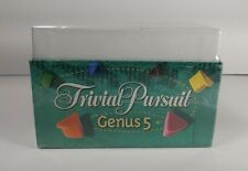 New Trivial Pursuit Genus 5 V Playing Cards Factory Sealed Box