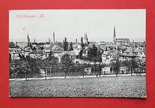AK MÜHLHAUSEN in Thüringen 1923 Stadtansicht mit Kirche   ( 35804