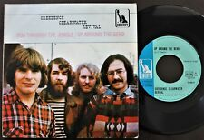 CREEDENCE CLEARWATER REVIVAL 1970 SINGLE MADE IN PORTUGAL 45 PS 7 *RUN JUNGLE*